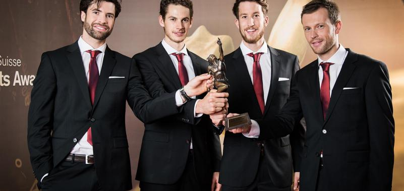 Team des Jahres an den Credit Suisse Sports Awards